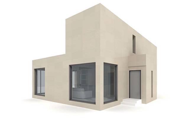 户外小型办公楼83D模型【ID:415471535】