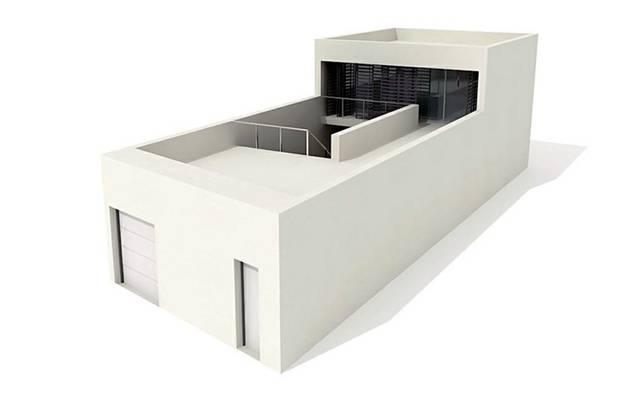 户外小型办公楼123D模型【ID:415471547】