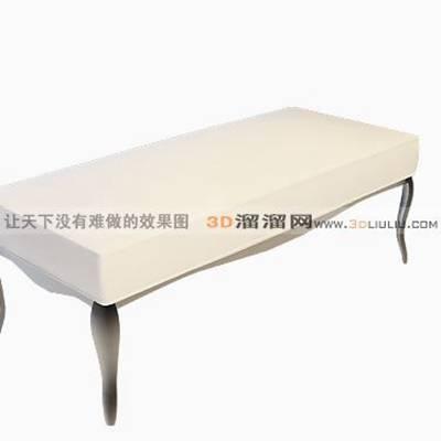 床尾凳183D模型【ID:416920413】