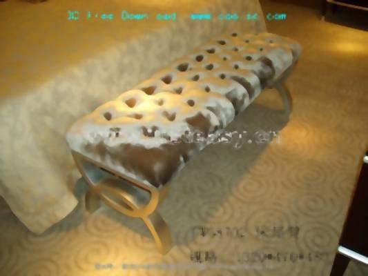 床尾凳193D模型【ID:416920414】