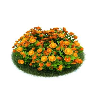 绿色草坪3D模型【ID:416935005】