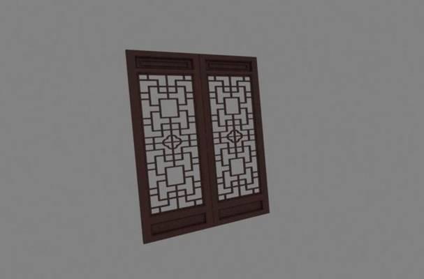 窗花23D模型【ID:416937847】
