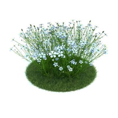 绿色草坪3D模型【ID:416938012】