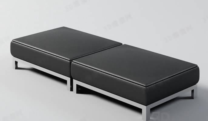 沙发凳213D模型【ID:416996251】