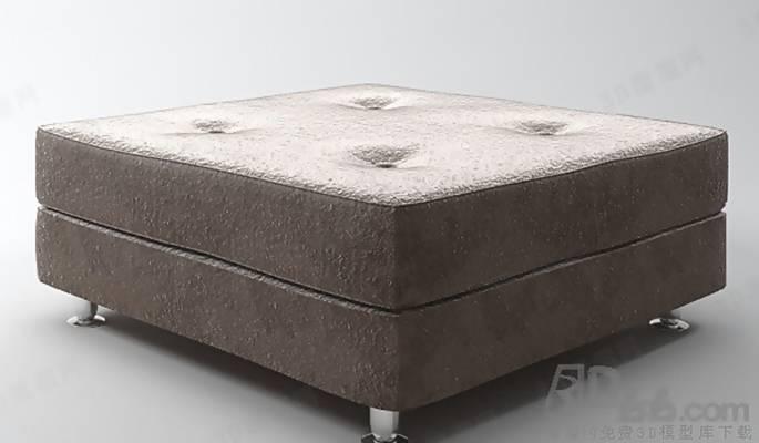 沙发凳273D模型【ID:416996290】
