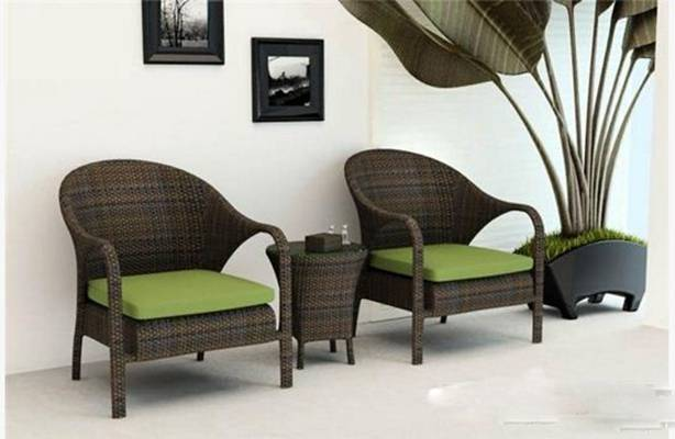 椅子茶几组合483D模型【ID:417016080】