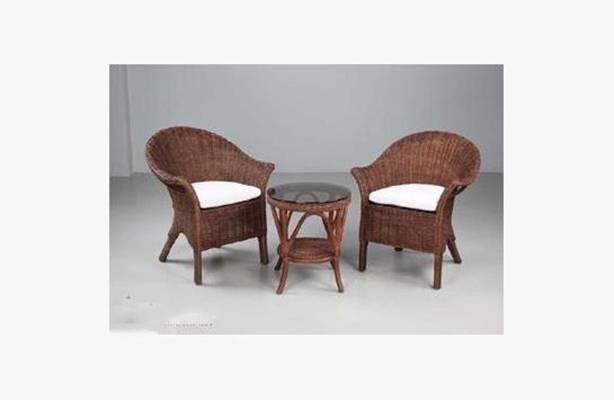 椅子茶几组合573D模型【ID:417017080】