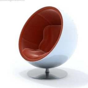 蛋壳椅13D模型【ID:417023046】
