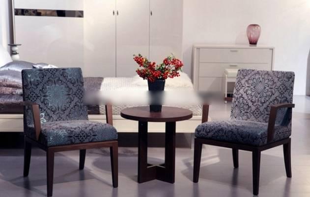 椅子茶几组合13D模型【ID:417061030】
