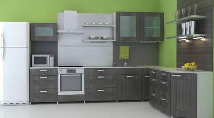 家居封闭厨房93D模型【ID:417074933】