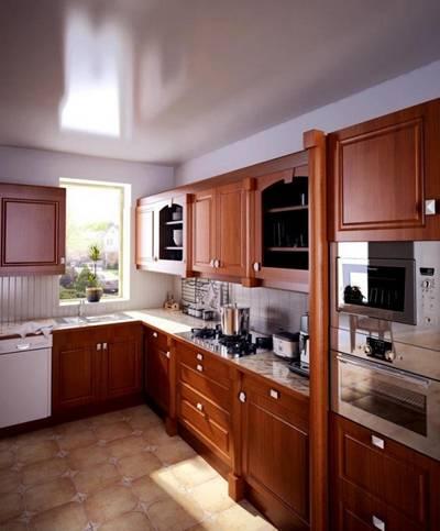 家居封闭厨房113D模型【ID:417074946】