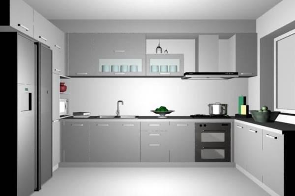 家居封闭厨房243D模型【ID:417075905】