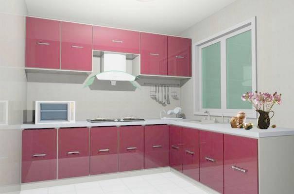 家居封闭厨房333D模型【ID:417075919】