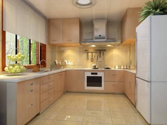 家居封闭厨房523D模型【ID:417075974】