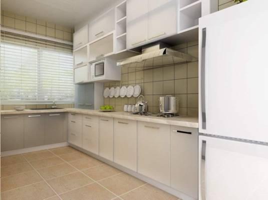 家居封闭厨房543D模型【ID:417075980】