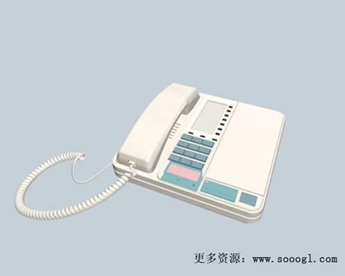 电话23D模型【ID:417096601】