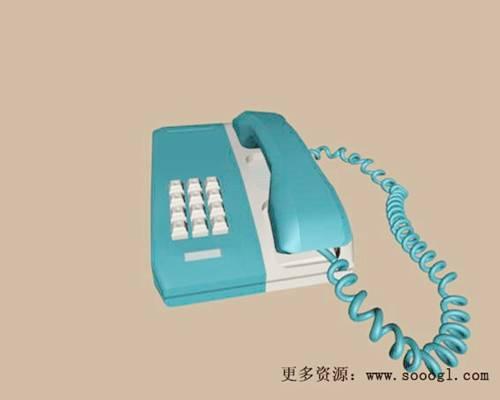 电话33D模型【ID:417096603】