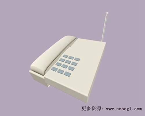 电话43D模型【ID:417096605】
