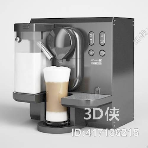 饮料机13D模型【ID:417136215】