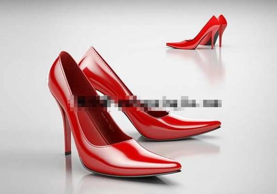 鞋子33D模型【ID:417150623】