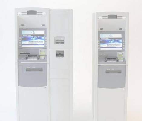 ATM取款机13D模型【ID:417158364】