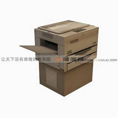 打印机33D模型【ID:417205351】