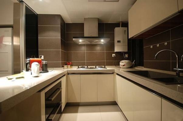 家居封闭厨房23D模型【ID:417250966】