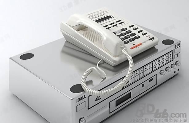 电话33D模型【ID:417264645】