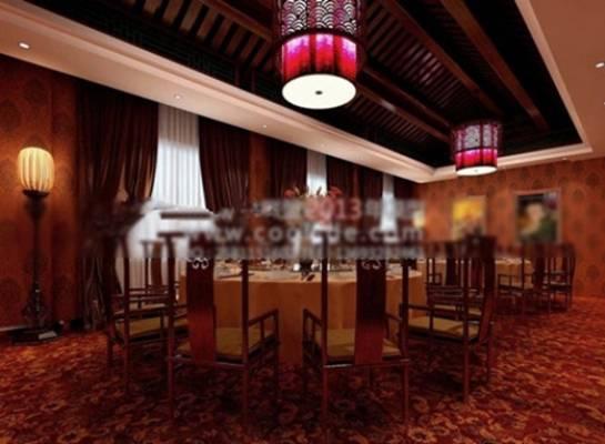酒店宴会厅283D模型【ID:417370433】