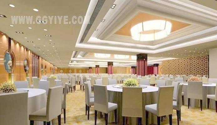 酒店宴会厅393D模型【ID:417370479】