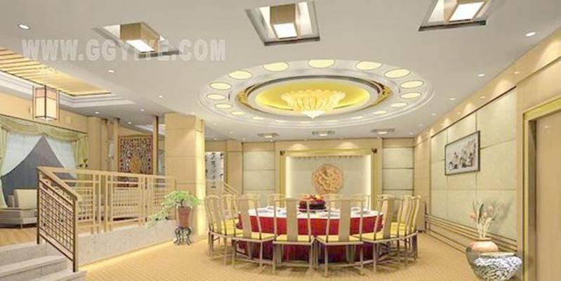 酒店宴会厅473D模型【ID:417370491】