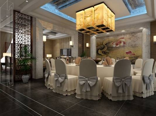 酒店宴会厅533D模型【ID:417371426】