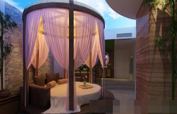 现代酒店客房3D模型【ID:417514645】