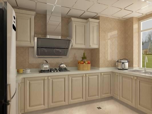 现代家居封闭厨房3D模型【ID:417585929】
