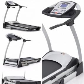 现代跑步机3D模型【ID:928561947】