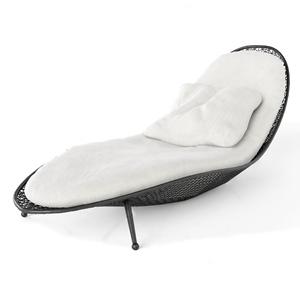 现代户外躺椅3D模型【ID:732414500】