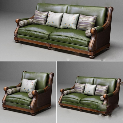 双人沙发3D模型【ID:920025743】