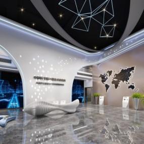 现代科技展厅3D模型【ID:327792076】