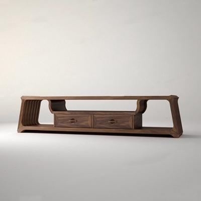 木迹制品-大蕴新中式电视柜3D模型【ID:928184069】