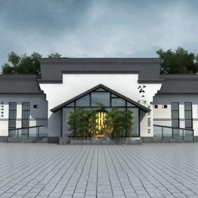 现代建筑3D模型【ID:724881583】