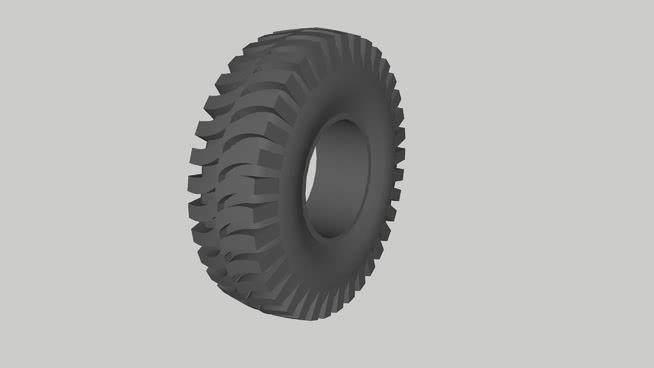 加拿大军用卡车轮胎SU模型【ID:437789978】