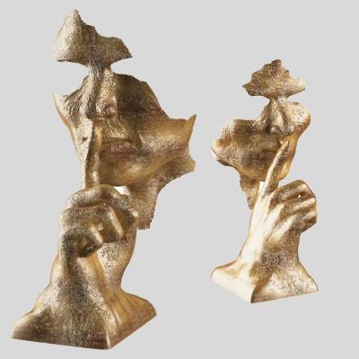 現代人物面具雕塑3D模型【ID:327792879】