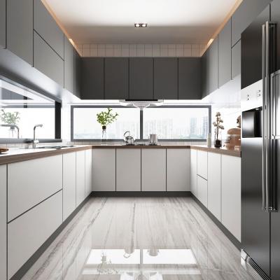 现代厨房3D模型【ID:128400451】