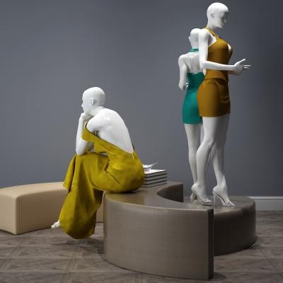 現代女性模特3D模型【ID:628458579】