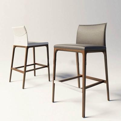 现代简约吧椅吧凳国外模型3D模型【ID:46889632】