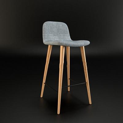 北欧简约吧椅吧凳北欧简约吧椅吧凳3D模型【ID:46902038】