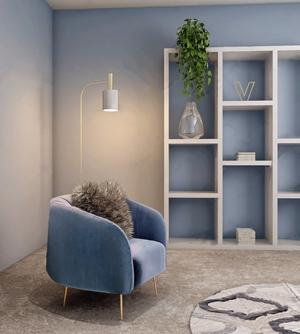 现代单人沙发3D模型【ID:920812670】