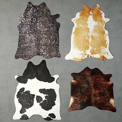 现代动物毛皮地毯3D模型【ID:47081105】