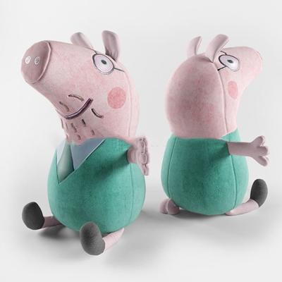 现代布艺粉色老鼠儿童玩具3D模型【ID:47154359】