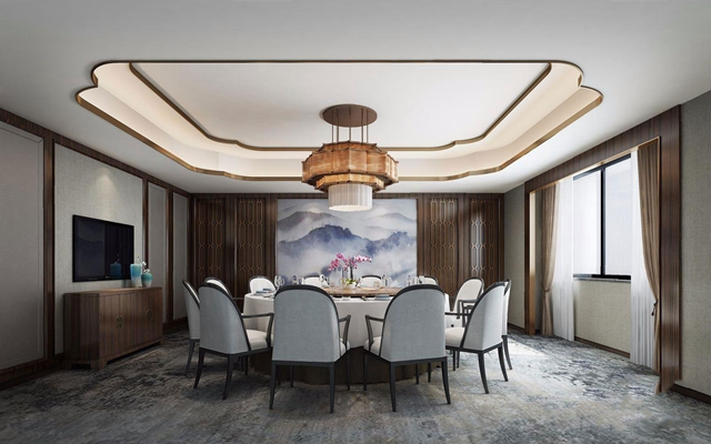 新中式包厢餐厅